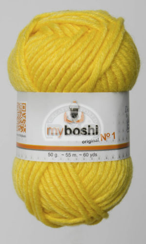 My Boshi N°113 de D.M.C pelote de 50 g coloris Yellow