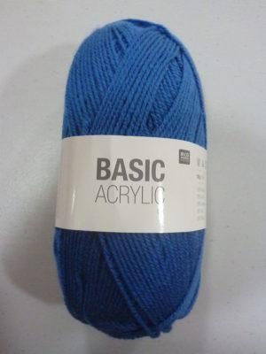 BASIC ACRYLIC DK de RICO DESIGN coloris 09 bleu outremer