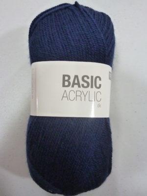 BASIC ACRYLIC DK de RICO DESIGN coloris 10 bleu marine