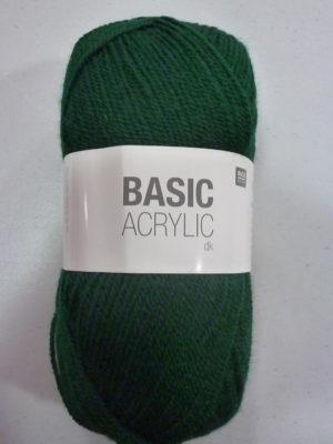 BASIC ACRYLIC DK de RICO DESIGN coloris 11 vert foncé