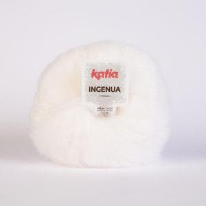 INGENUA N°01 de KATIA pelote de 50 g coloris Blanc