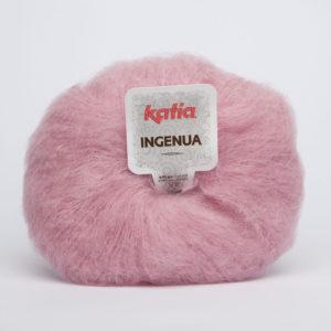 INGENUA N°51 de KATIA pelote de 50 g coloris Rose Poudré