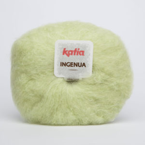 INGENUA N°55 de KATIA pelote de 50 g coloris Vert d'eau