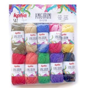 AMIGURUMI S02 100% Coton de Katia