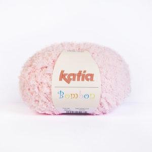 BOMBON N°202 de KATIA pelote de 50 g coloris Rose