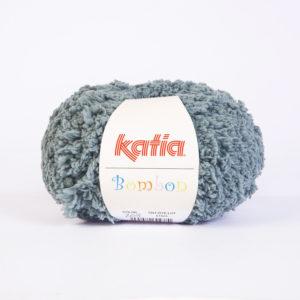 BOMBON N°205 de KATIA pelote de 50 g coloris Gris Bleu