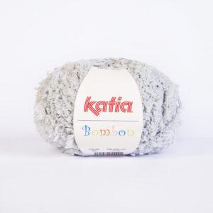 BOMBON N°206 de KATIA pelote de 50 g coloris Gris Clair