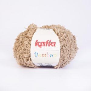 BOMBON N°208 de KATIA pelote de 50 g coloris Sable