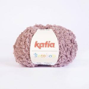 BOMBON N°213 de KATIA pelote de 50 g coloris Vieux Rose