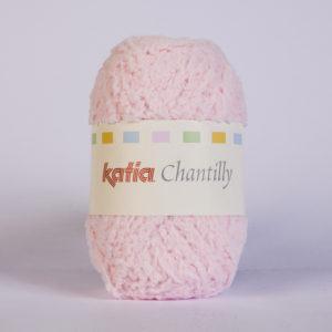 CHANTILLY N°38 de KATIA pelote de 50 g coloris Rose