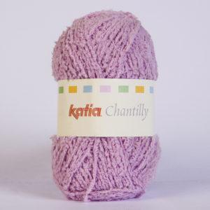 CHANTILLY N°40 de KATIA pelote de 50 g coloris Mauve