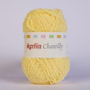 CHANTILLY N°49 de KATIA pelote de 50 g coloris Jaune