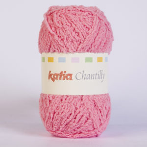 CHANTILLY N°63 de KATIA pelote de 50 g coloris Rose