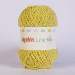 CHANTILLY N°64 de KATIA pelote de 50 g coloris Moutarde