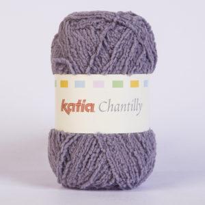 CHANTILLY N°67 de KATIA pelote de 50 g coloris Lilas