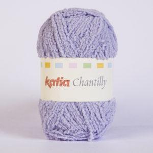 CHANTILLY N°68 de KATIA pelote de 50 g coloris Gris Bleu