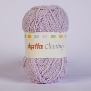 CHANTILLY N°69 de KATIA pelote de 50 g coloris Lilas
