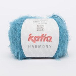 HARMONY N°75 de KATIA pelote de 50 g coloris Turquoise