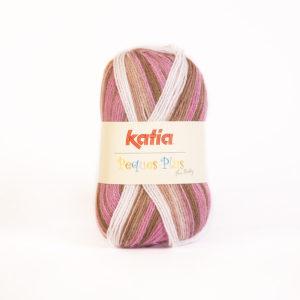 PEQUES PLUS N°50 de KATIA pelote de 50 g coloris Multicolore