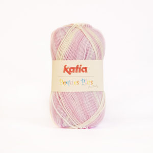 PEQUES PLUS N°54 de KATIA pelote de 50 g coloris Multicolore