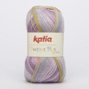 PEQUES PLUS N°60 de KATIA pelote de 50 g coloris Multicolore