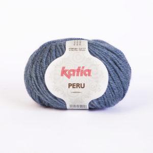 PERU N°18 de KATIA pelote de 100 g coloris Bleu Jeans