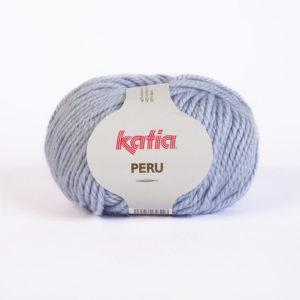 PERU N°19 de KATIA pelote de 100 g coloris Bleu Ciel