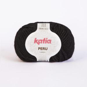 PERU N°02 de KATIA pelote de 100 g coloris Noir