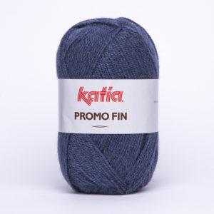 PROMO-FIN N°3204 de KATIA pelote de 50 g coloris Bleu Jeans