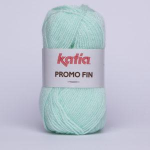 PROMO-FIN N°556 de KATIA pelote 50 g coloris Menthe