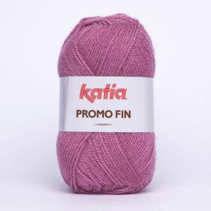 PROMO-FIN N°7203 de KATIA pelote 50 g coloris Vieux Rose