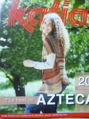 Catalogue Katia N°R-4 The Best of Azteca 20 modèles