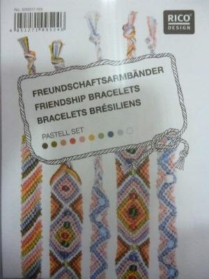 Kit pour Bracelets Brésiliens de Rico Design N°165