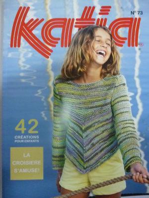 Catalogue Katia Enfants N°73 Printemps-Eté 42 modèles