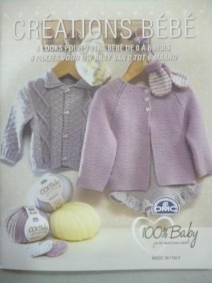 Catalogue Créations Bébé de 0 à 6 Mois de D.M.C