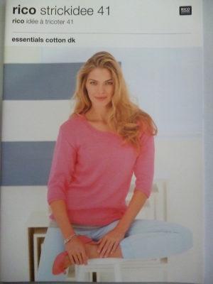 Essentials Cotton DK N°23 Coton de RICO DESIGN