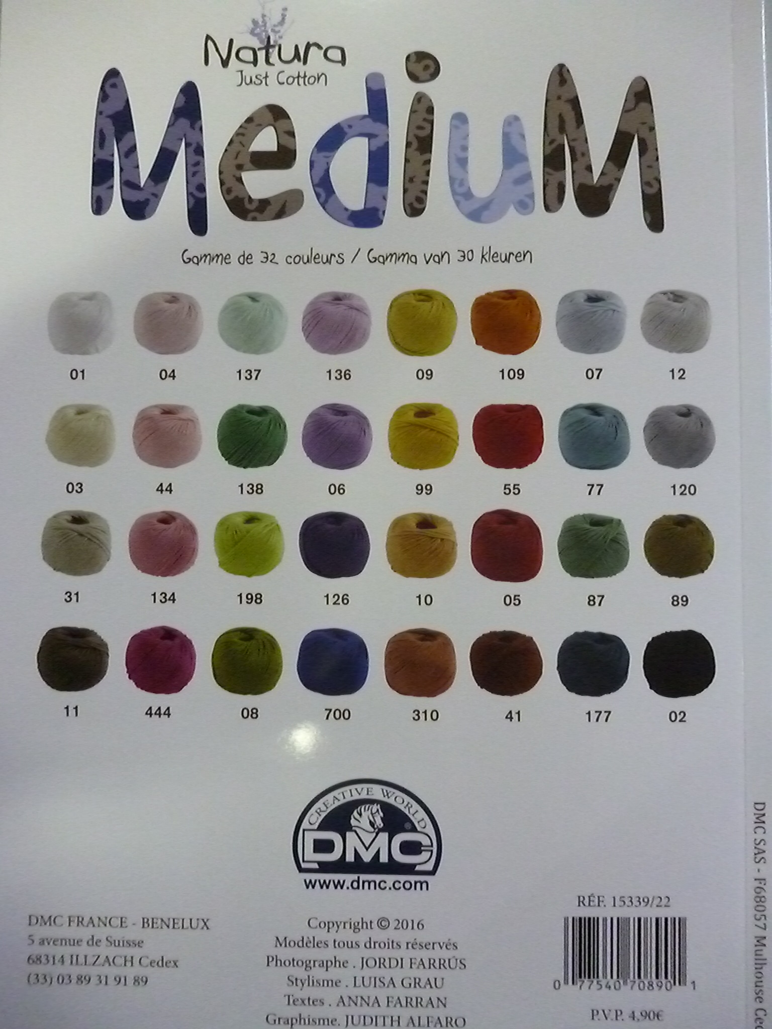 dmc just cotton
