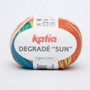 DEGRADE «Sun» N°95 100% Coton de KATIA