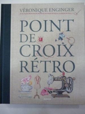 Livre «Point de Croix Rétro» A Broder chez Mango