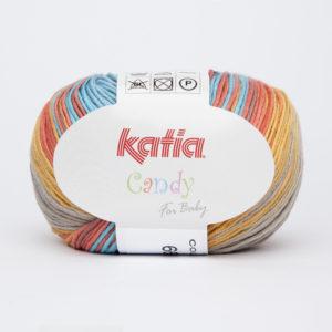 CANDY N°666 100% Coton de KATIA Coloris Multicolore