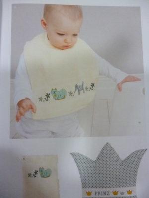 Broder pour Bébé N°133 «Bébé» de Rico Design