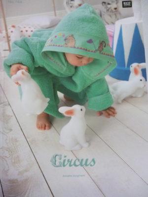 Broder pour Bébé N°144 «Circus» de Rico Design