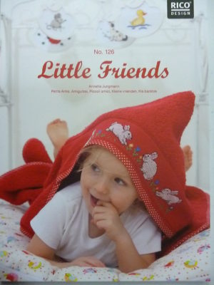 Broder pour Bébé N°126 « Little Friends » de Rico Design
