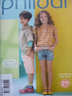 Catalogue Phildar N°645  9 Modèles Enfants