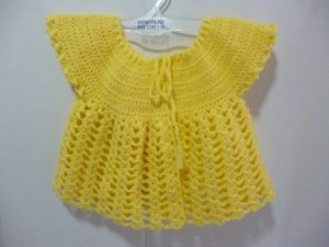 gilet en Gagnante coloris jaune soleil