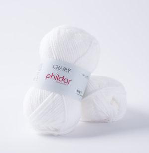 Charly de Phildar coloris Blanc