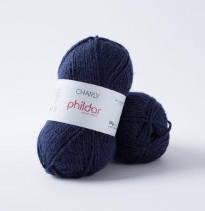 Charly de Phildar coloris Marine