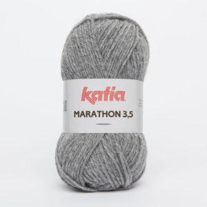 MARATHON 3.5 N° 11 de KATIA pelote 50 g coloris Gris Clair