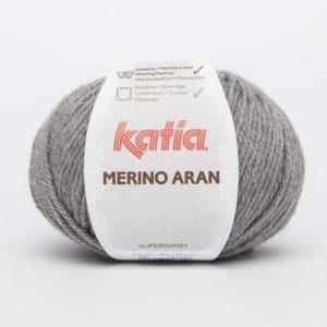 Merino Aran N°69 de KATIA pelote de 100 g coloris Gris