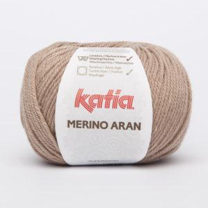 Merino Aran N°74 de KATIA pelote de 100 g coloris Beige